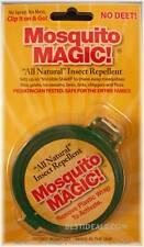 1 MOSQUITO MAGIC CLIPON REPELLENT TICK FLEA NO DEET