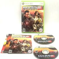 Mass Effect 2 Microsoft Xbox 360 Complete Tested Very Good Bioware 2010
