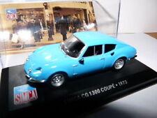 SIM15 voiture1/43 altaya IXO Simca : CG coupé 1300 1973