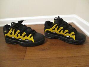 BNIB Size 12 Osiris D3 2001 Shoes Black, Yellow, White