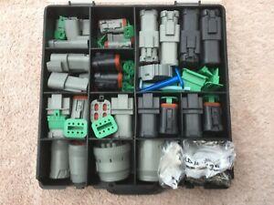 Deutsch DT / HD Series Connector Kit 485 Piece, Automotive, Marine, Plugs.