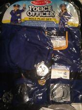 Melissa & Doug Police Officer Costume Set 4835 Brand New