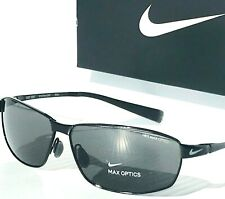 NEW* NIKE TOUR Metal Black polished w/ Max Optics Lens Golf Sunglass EV0744 001