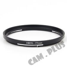 Hasselblad B70mm to 77mm Male-Famale Step-Up Lens Filter Hood Cover Ring Adapter