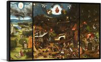 ARTCANVAS The Last Judgement 1482 Canvas Art Print by Hieronymus Bosch