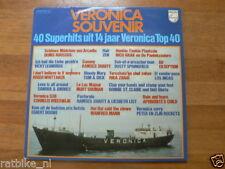 LP RECORD VINYL VERONICA SCHIP 14 JAAR RADIO VERONICA SOUVENIR 40 SUPERHITS 2 LP