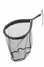 ** New ** Savage Gear Pro Finezze Floating Rubber Mesh Landing Net (40x50x50cm)