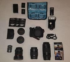 Canon EOS Rebel T5 Huge Bundle With Lenses (18-55 & 75-300)