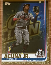 2019 Topps Update Ronald Acuna Gold Parallel Card #'d 488/2019!!