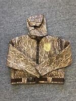 Kobuk Men's 3mm Neoprene Hunting Wading Jacket Mossy Oak Bottomland Medium