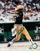 Bill Madlock Signed 8X10 Photograph Autograph Pirates After Swing Auto w/COA