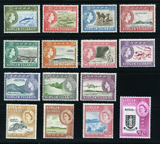 BR. VIRGIN ISLANDS 1964 SG 178-192 SC 144-158 VF OG MLH COMPLETE SET 15 STAMP