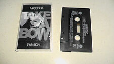 take a bow madonna music cassette .....  it plays very well