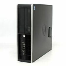 HP Compaq 6300 Pro Desktop PC 500GB HDD Core i5 3470 3.2GHz 4GB RAM WINDOWS 10