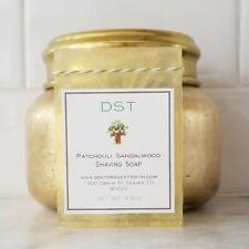 PATCHOULI SANDALWOOD Handmade Scented Shaving Bar Soap 4.5oz