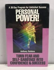 Anthony Robbins Personal Power Vol 8 2 Audio Cassette New Sealed 1989 Rare VTG
