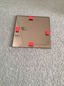 BMGC SQUARED MIRRORED TILE (SILVER BRONZE TINT) - 200x200mm