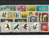 German Democratic Republic mint never hinged stamps Ref 13796