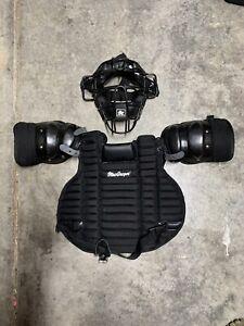MacGregor Umpire Chest Protector & Mask Baseball 79b