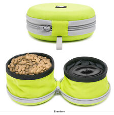 Truelove Collapsible Travel Water & Food Dog Bowl Pet Compact