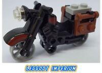 LEGO Vintage MotorBike - Black & Dark Red Trim Display Model - City FREE POST