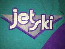 Jet Ski Kawasaki Jacket M Medium Swingster Purple Teal Coat NEW NWT