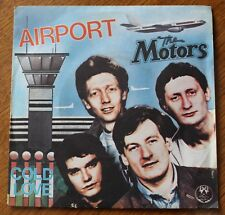 The Motors, airport / cold love, SP - 45 tours
