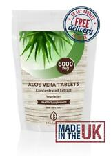 Aloe Vera Extract 6000mg Vitamins Tablets Pills Health Supplements