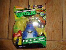 Nickelodeon Tmnt Teenage Mutant Ninja Turtles Action Figure Atilla la rana