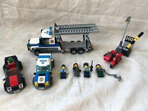 Lego 60143 City Police Auto Transport Heist Set Complete