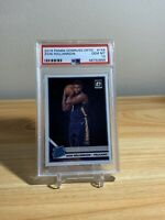 Zion Williamson RC 2019 Panini Donruss Optic Rated Rookie #158 Pelicans PSA 10