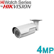 HIKVISION HIWATCH 4MP IP POE CCTV BULLET CAMERA VARIFOCAL MOTORISED HD OUTDOOR