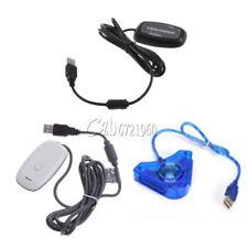 Receptor de Juegos Inalámbrico USB 2.0 PC-Controlador Adaptador para Xbox 360 Blanco/Negro