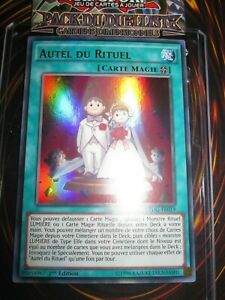 YU-GI-OH! ULTRA RARE AUTEL DU RITUEL DPDG-FR039 EDITION 1 FRANCAIS MINT NEUF