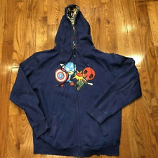 Tokidoki Marvel Full Zip Blue Hoodie XL