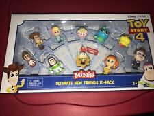 Toy Story 4 Minis ULTIMATE NEW FRIENDS 10 PACK Disney Pixar Figures