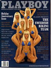 US-Playboy Januar/01/1992  *SUZI SIMPSON*