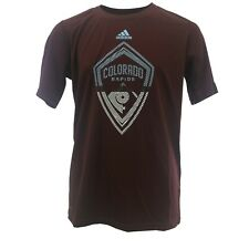 MLS Adidas Colorado Rapids Kids Youth Size Official Athletic ClimaLite Shirt New