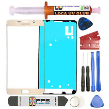 Gold Front Outer Lens Screen Glass Replacement for Samsung Galaxy Note 5 N920