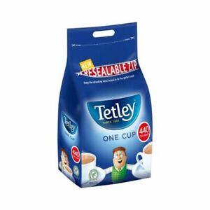 2 xTetley Tea Bags One Cup Regular Packs / Bags of 440