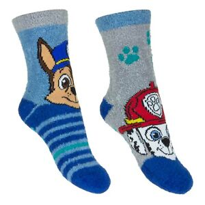 PAW PATROL SLIPPER GRIPPER 2 PACK SOCKS 3 SIZES 2 PAIRS