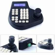 CCTV Joystick Keyboard Controller LCD f/ PTZ Speed Dome Camera Control (2Axis)