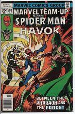 MARVEL COMICS Marvel Team-up #69 FN+ Spider-Man and Havok 1978