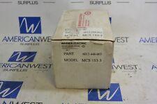WARNER ELECTRIC MCS 153-3 CLUTCH CONTROL MCS153-3 NEW IN BOX