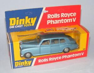 DINKY TOYS #124 ROLLS ROYCE PHANTOM V NEAR MINT BOXED VINTAGE 1977