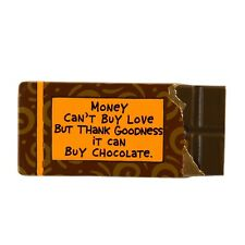 Our Name is Mud ONM4020707 Money Chocolate Fridge Magnet