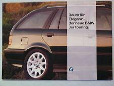 Prospekt BMW 3er E 36 touring (320i,328i,318/325tds), 2.1994, 6 Seiten, folder
