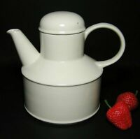 Iconic MIDWINTER England * STONEHENGE White TEA POT ~ CLASSIC Design VINTAGE 70s