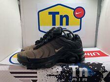 Nike Air Max Plus TN TUNED 1 Gradient Black Anthracite Desert Sand / Size 7