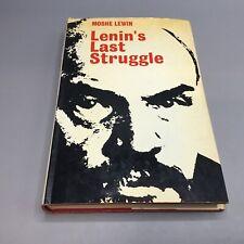Lenin's Last Struggle - Moshe Lewin 1969 Faber and Faber *